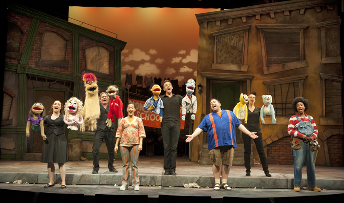 Avenue Q website