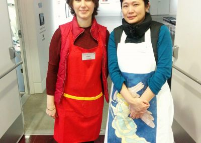 Pelin and Wing Education Program Assistants