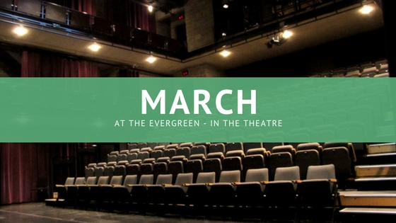 Downstage with David: March is here!