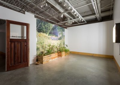 Installation view of Zebulon Zang No Name Creek, exhibition at the Art Gallery at Evergreen, 2016, Photo Blaine Campbell. (1)