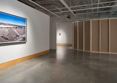 Installation view of Zebulon Zang No Name Creek, exhibition at the Art Gallery at Evergreen, 2016, Photo Blaine Campbell. (3)