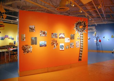 Installation view of EXPO 79-16, exhibition at the Art Gallery at Evergreen, 2016, Photo Blaine Campbell2