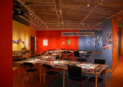 Installation view of EXPO 79-16, exhibition at the Art Gallery at Evergreen, 2016, Photo Blaine Campbell3