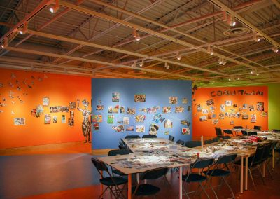 Installation view of EXPO 79-16, exhibition at the Art Gallery at Evergreen, 2016, Photo Blaine Campbell4
