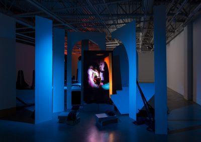 "Art Gallery at Evergreen - ""Theatre Theatre"" - Deborah Edmeades, Adad Hannah, Oliver Husain, Carol Sawyer"