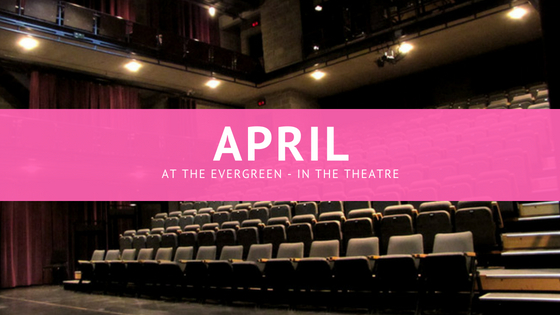 April means… Downstage with David
