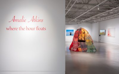 AMALIE ATKINS: WHERE THE HOUR FLOATSMarch 02 - April 21, 2019